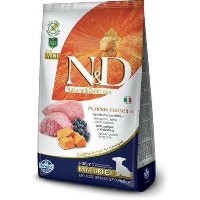 N&D Dog Grain Free bárány&áfonya sütőtökkel puppy mini 2,5kg kutyatáp