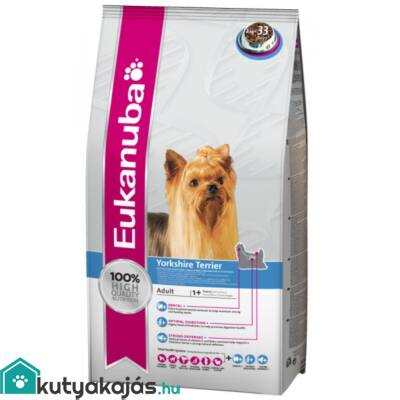 Eukanuba Breed Yorkshire Terrier  2kg kutyatáp