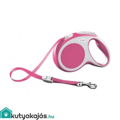 Flexi Vario S 8m Zsinóros Pink 12kgIg