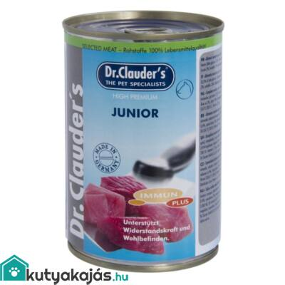 DrClauders Dog Konzerv Selected Meat Junior 400g