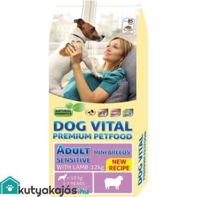 Dog Vital Adult Sensitive  Mini Breeds Lamb  12kg kutyatáp