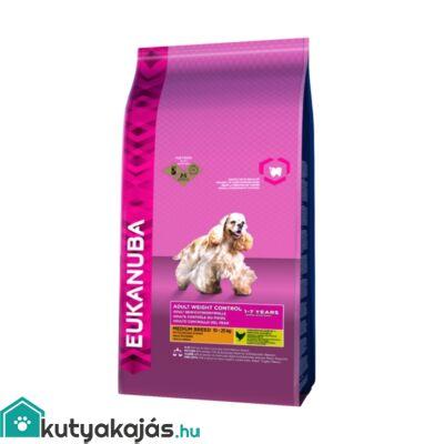 Eukanuba Adult Medium Breed Weight Control 3kg kutyatáp