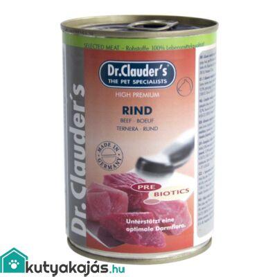 DrClauders Dog Konzerv Selected Meat Marha 400g