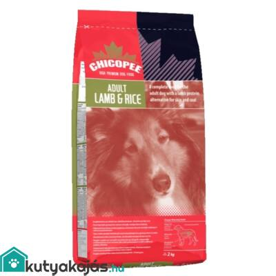 Chicopee Adult Lamb/Rice 2kg kutyatáp