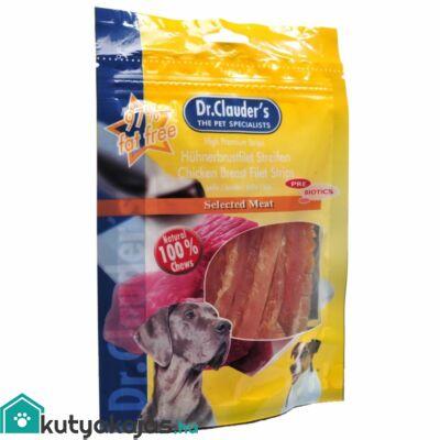 Dr.Clauders Dog Premium Csirkemell Darabok 80g