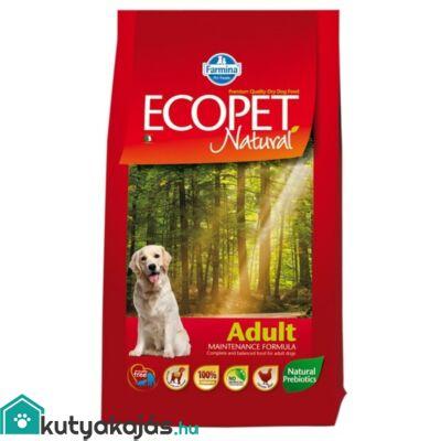Ecopet Natural Adult 2,5kg kutyatáp