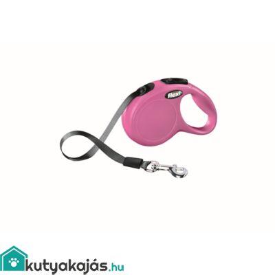 Flexi Új Classic Szalag Xs 3m Pink 12kg