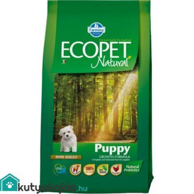 Ecopet Natural Puppy Mini 2,5kg kutyatáp