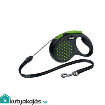 Flexi Design M Zsinór 5m, 20kg Zöld