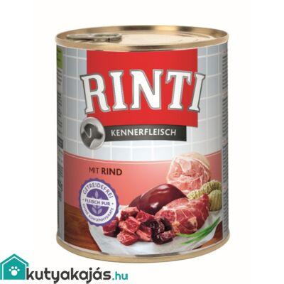 Rinti Dog Kennerfleisch Konzerv Marha800g