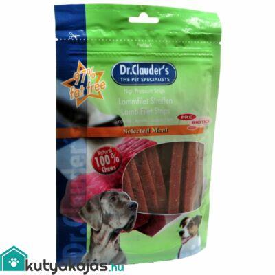 DrClauders Dog Jutalomf Premium Bárányfilé Csíkok 80g