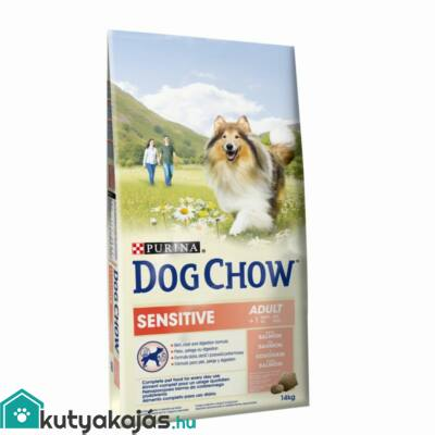 Purina Dog Chow Sensitive Lazac 14kg kutyatáp