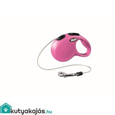 Flexi Új Classic Zsinór Xs 3m Pink 8kg
