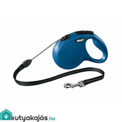 Flexi Új Classic Zsinór S 8m Kék 12kg