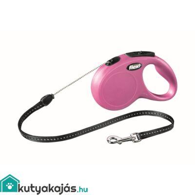 Flexi Új Classic Zsinór S 5m Pink 12kg