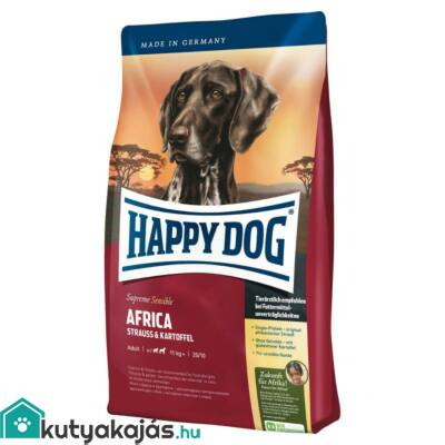 Happy Dog Supreme Africa 12,5 kg kutyatáp