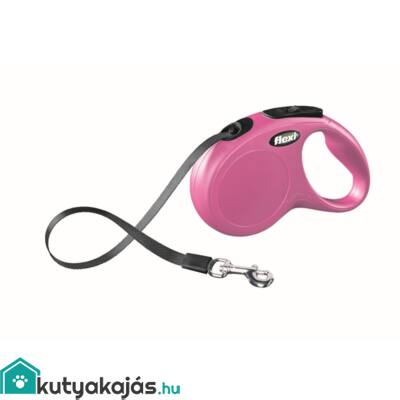 Flexi Új Classic Szalag S 5m Pink 15kg
