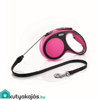 Flexi új Comfort M zsinór 5m,20kgig pink