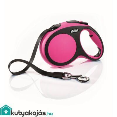 Flexi új Comfort L szalag 5m,60kgig pink