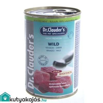 DrClauders Dog Konzerv Selected Meat Vad 400g