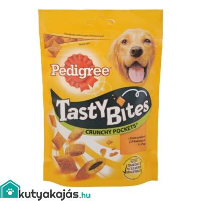 Pedigree Tasty Bites 95gr Crunchy Pockets