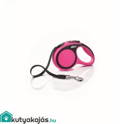 Flexi új Comfort Xs szalag 3m,12kgig pink