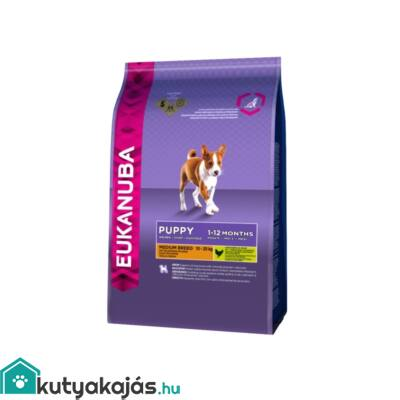 Eukanuba Puppy Medium 1kg kutyatáp