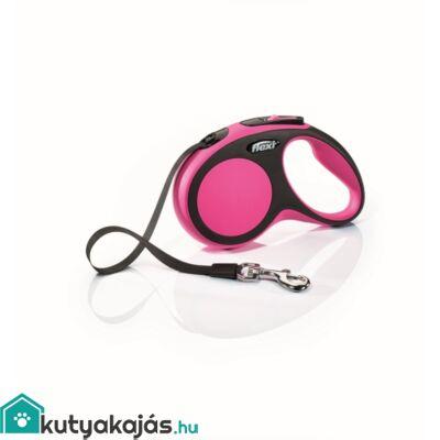 Flexi új Comfort S szalag 5m,15kgig pink