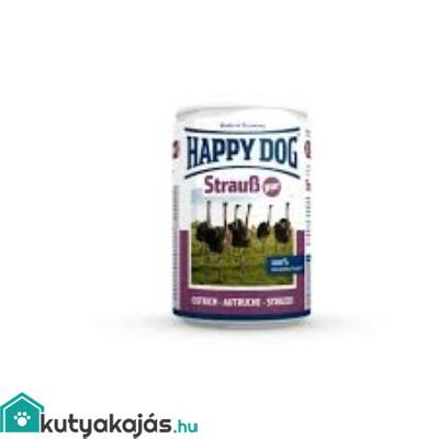 Happy Dog Strauss Pur (Stucc) 400 gr