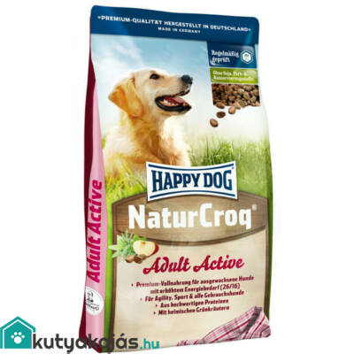 Happy Dog Natur-Croq Active 15 kg kutyatáp