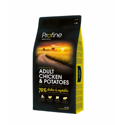 Profine Adult Chicken & Potatoes 15 kg kutyatáp