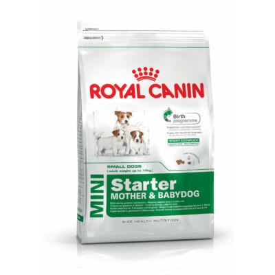 Royal Canin MINI STARTER MOTHER & BABYDOG 8,5 kg kutyatáp
