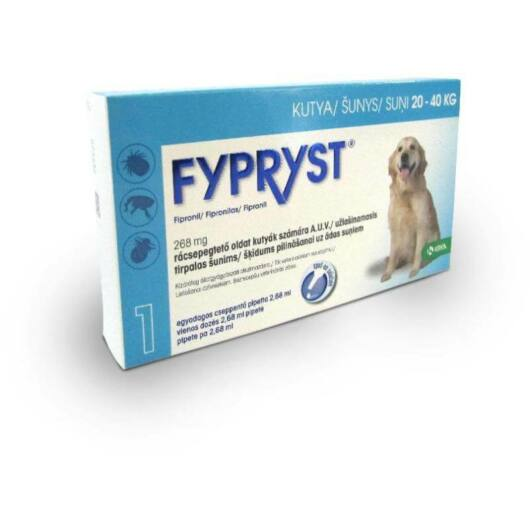 FYPRYST Spot On L 20-40kg-os Kutyáknak 2.68ml 1x