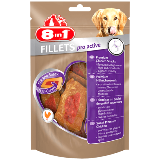 8in1 Fillets Pro Active 80g