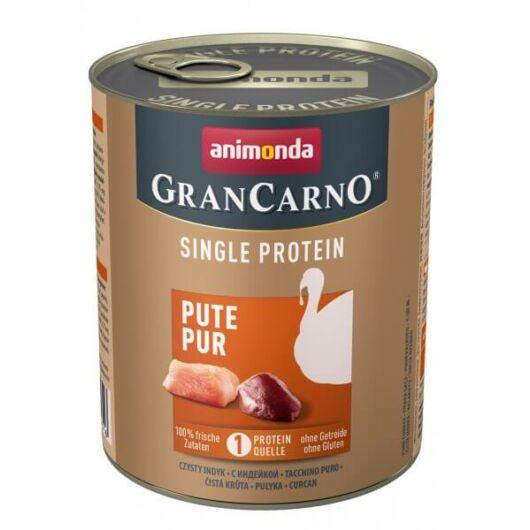 Animonda GranCarno Adult (single protein) konzerv pulykahússal 400g