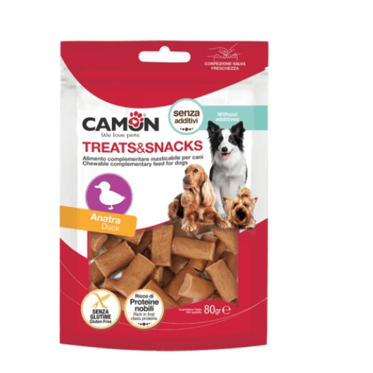 Camon Treats & Snacks kacsás falatok 80g