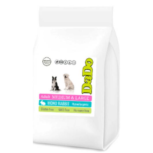 DaDo Nyulas Hipoallergén Kutyatáp felnőtt kutyáknak (M-L) 10 Kg