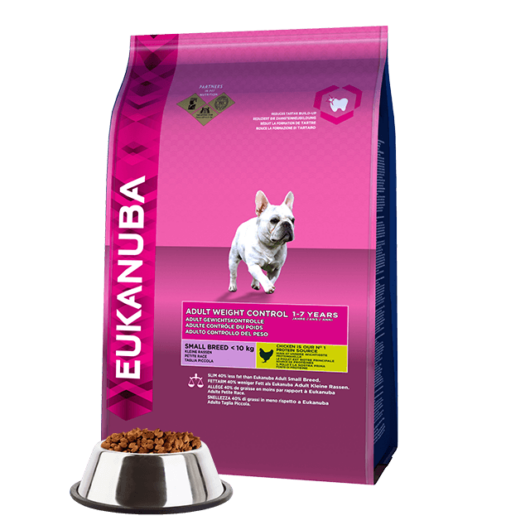 Eukanuba Adult Small Breed Weight Controll 1kg kutyatáp