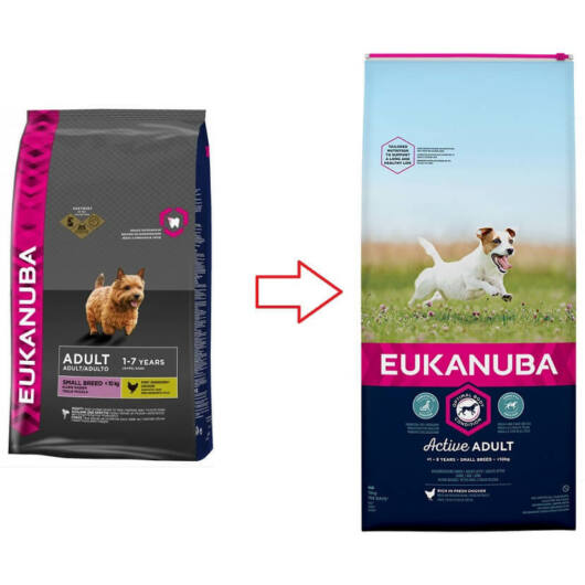 Eukanuba Adult Small 1kg kutyatáp