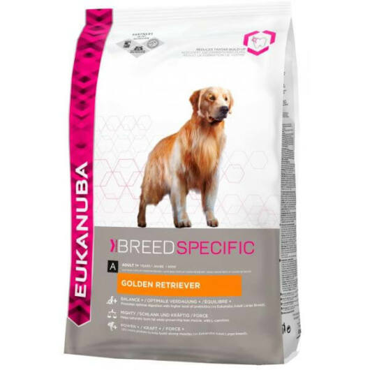 Eukanuba Breed Golden Retriever 2,5kg kutyatáp