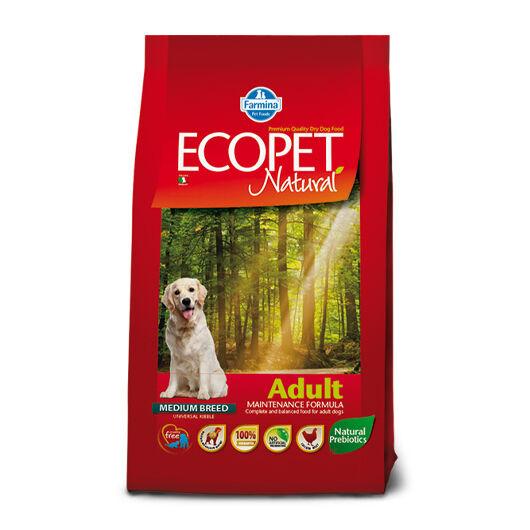 Ecopet Natural Adult Medium 2x14kg