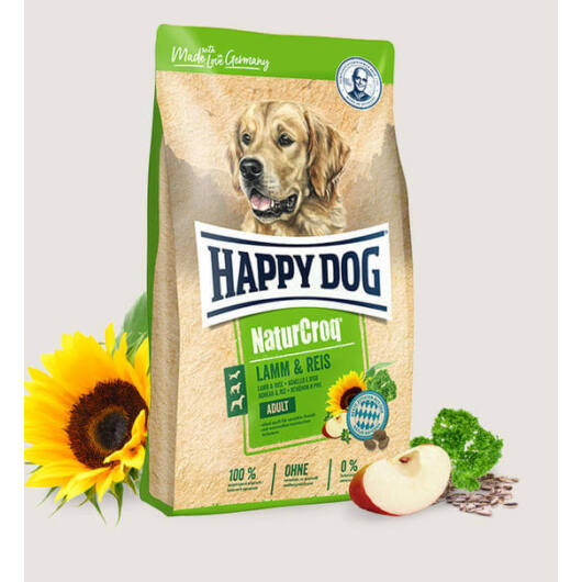Happy Dog NaturCroq Lamm/Reis (Bárány & rízs) 1 kg kutyatáp