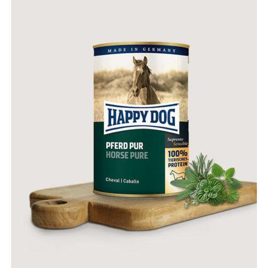 happy dog konzerv lóhússal