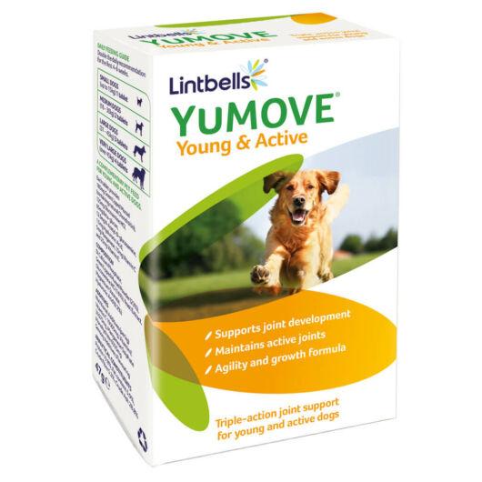 Lintbells YuMOVE Young & Active - Porcerősítő fiatal és aktív kutyáknak 60 db