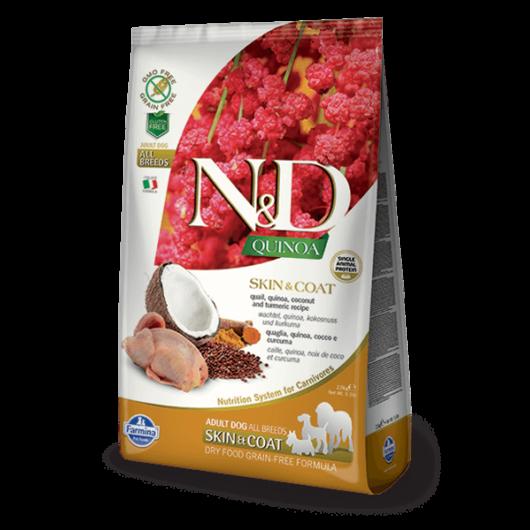 N&D Dog Grain Free Quinoa Skin&Coat Fürj 800 g