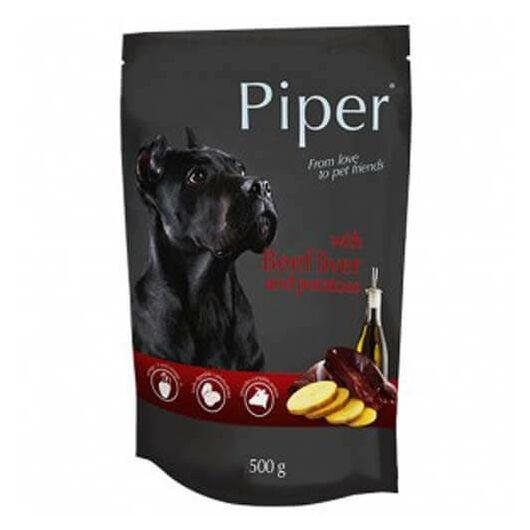 PIPER ADULT alutasak kutyáknak marhamájjal és burgonyával 150g