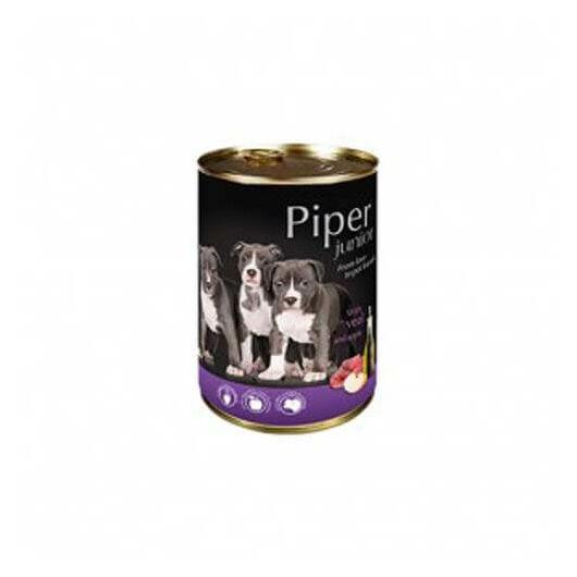 PIPER Junior kutyakonzerv borjúhús és alma