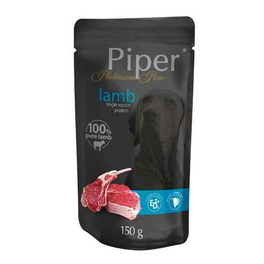 PIPER PLATINUM PURE bárány alutasak felnőtt kutyáknak