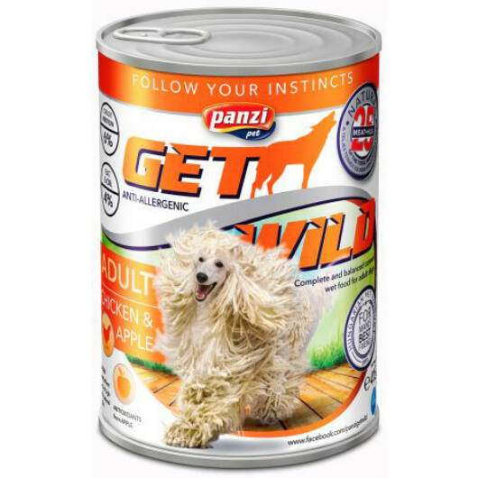 panzi getwild konzerv adult csirke