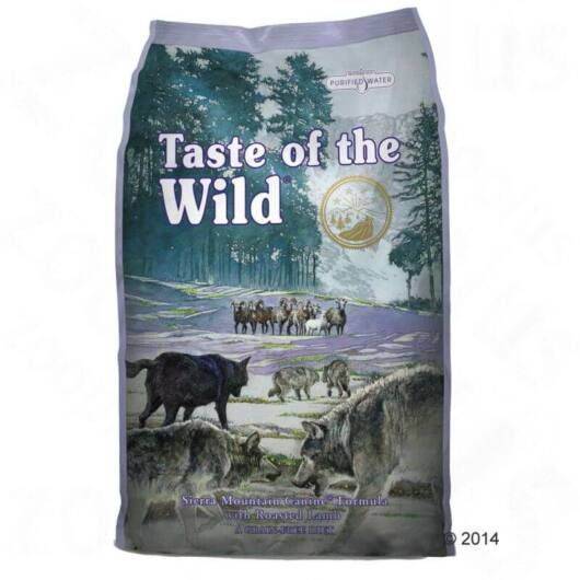 Taste of the Wild - Sierra Mountain 13kg